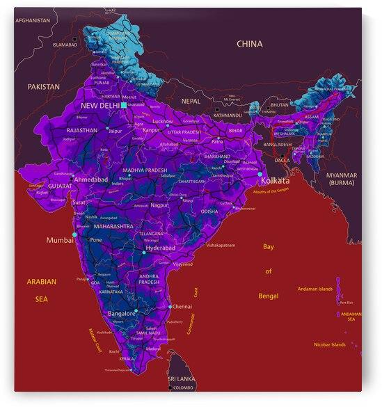 India Map by SamKal