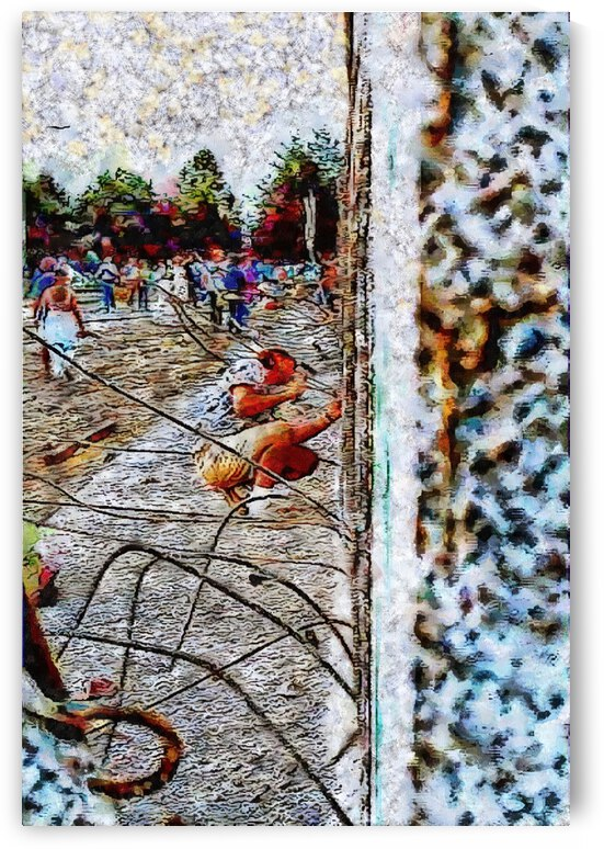 Fall of the Berlin Wall by Dorothy Berry-Lound