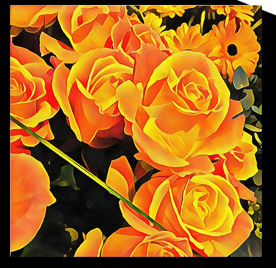 Roses for Companionship by Dorothy Berry-Lound