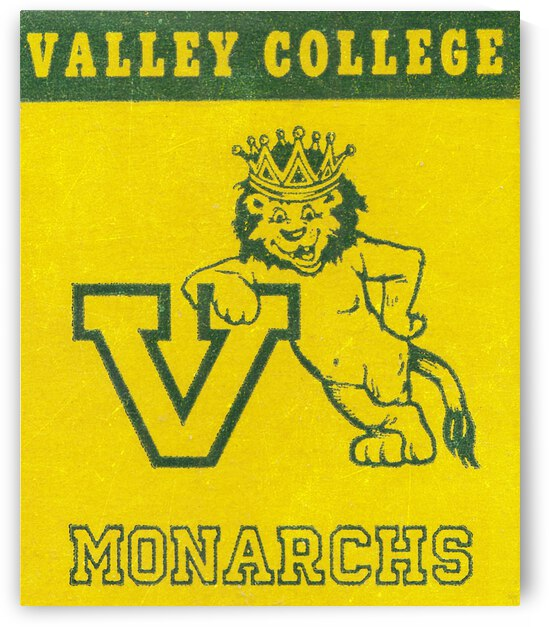 Valley College Monarchs   Row 1 by Row One Brand