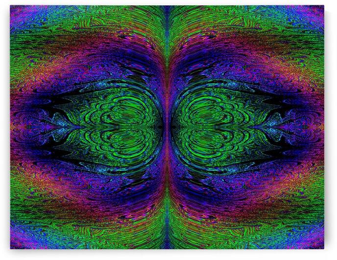 Digital Rainbow by Sherrie Larch