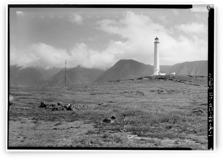 Molokai-Light-Station-HI by Stock Photography