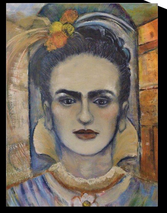 Frida  by Becky Claffy Fine Art