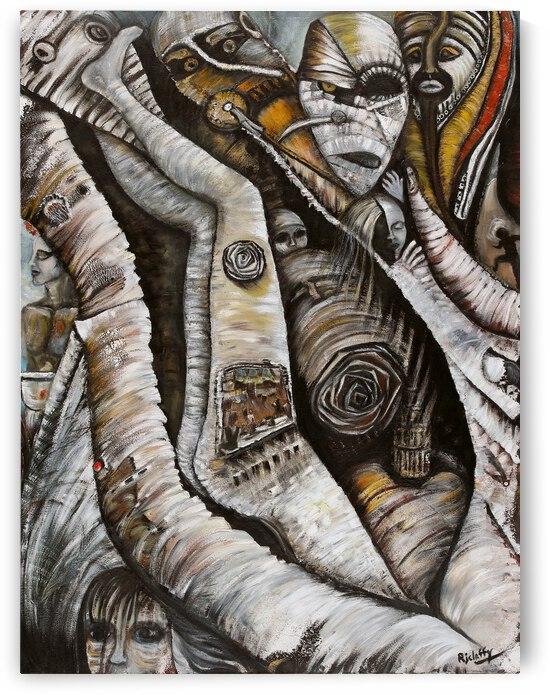 The Kings Queen Sleeps by Becky Claffy Fine Art