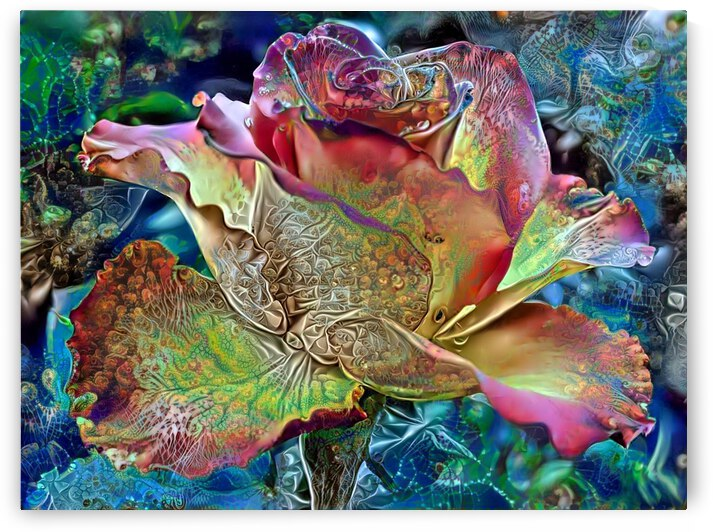A Rose Is But A Rose by Angela Cooper Hanley