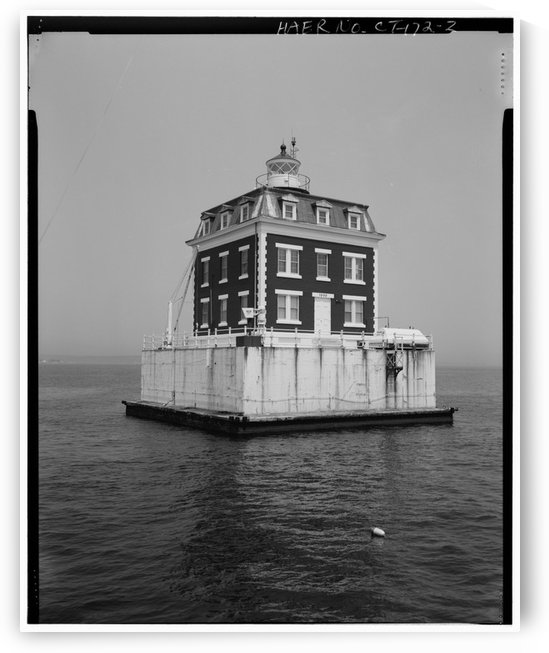 New-London-Ledge-Lighthouse-CT by Stock Photography