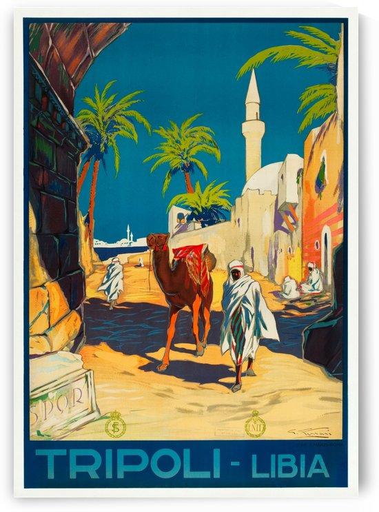 Tripoli, Libya Travel Poster by VINTAGE POSTER