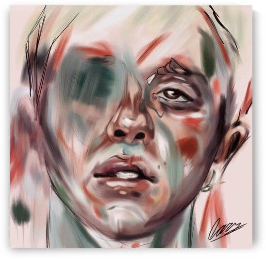 Conor Mason Abstract Fanart by Lars