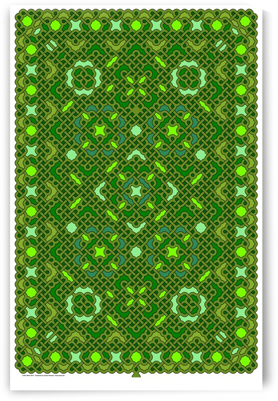 Celtic Maze 5017 by Arpan Phoenix