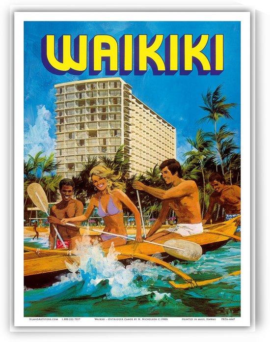 Vintage Hawaii Travel Poster by VINTAGE POSTER