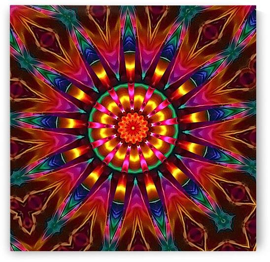 Shape In Song Kaleidoscope by Angela Cooper Hanley