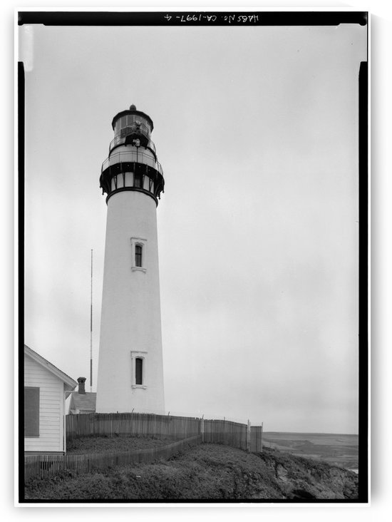 Pigeon-Point-Lighthouse-2-CA by Stock Photography