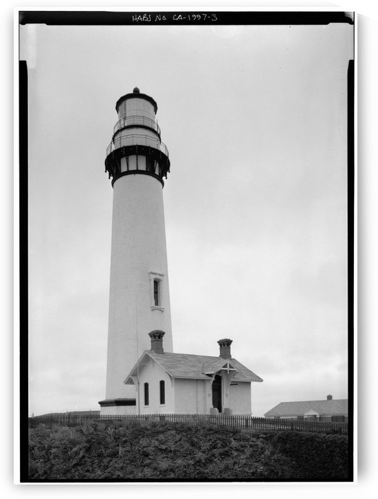 Pigeon-Point-Lighthouse-CA by Stock Photography