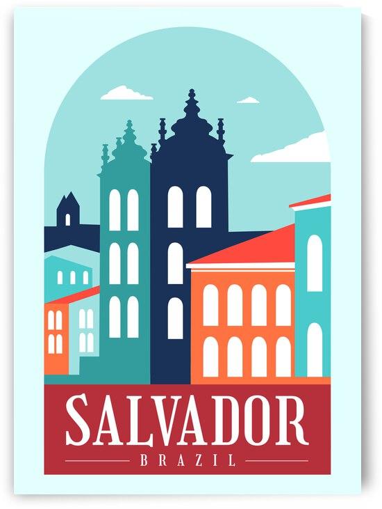 Salvador brazil by SamKal