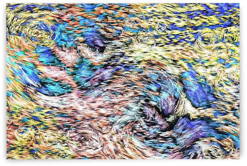 Paw Prints Van Gogh by Dorothy Berry-Lound