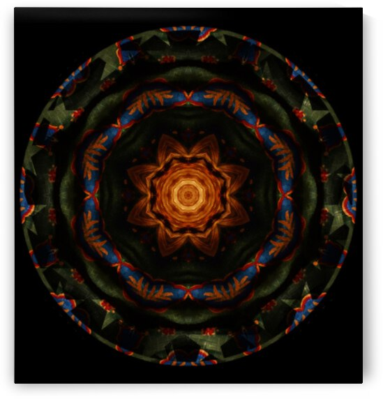 Dog Kaleidoscope 2 by Dorothy Berry-Lound