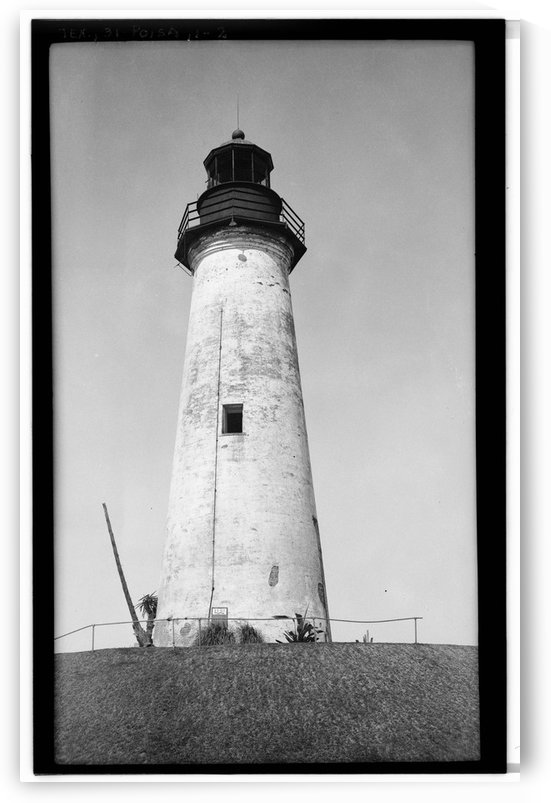 Point-Isabel-Light-Station-Texas by Stock Photography