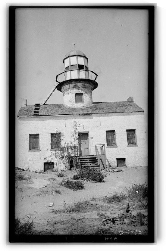 Point-Loma-Lighthouse-CA by Stock Photography