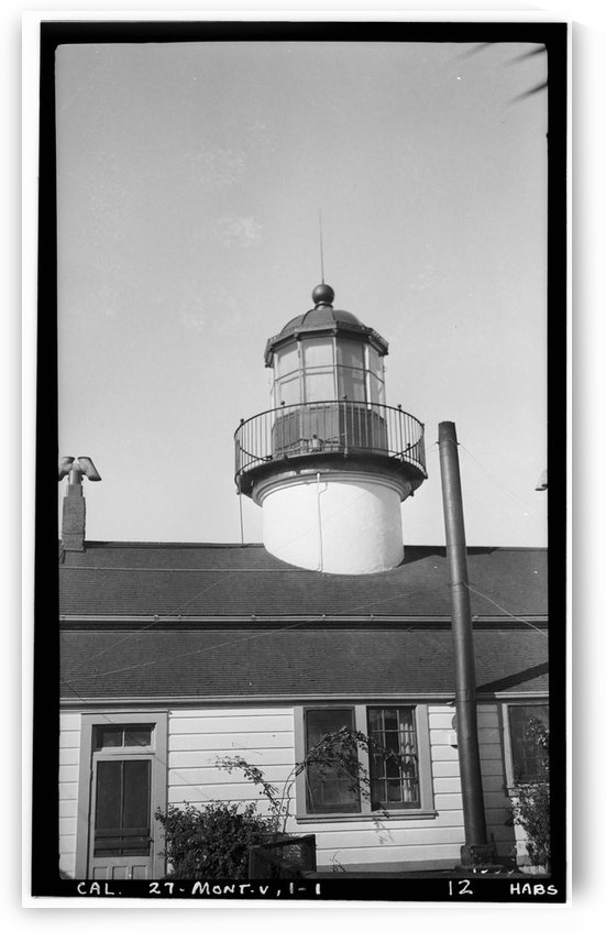 Point-Pinos-Lighthouse-CA by Stock Photography