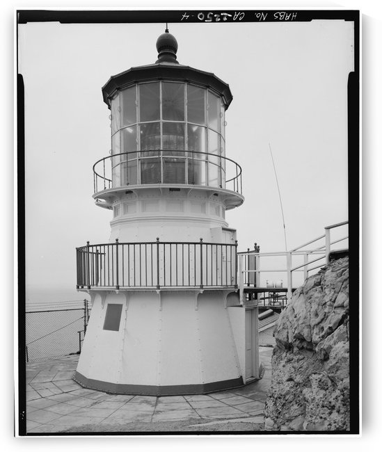 Point-Reyes-Lighthouse-(Detail) by Stock Photography