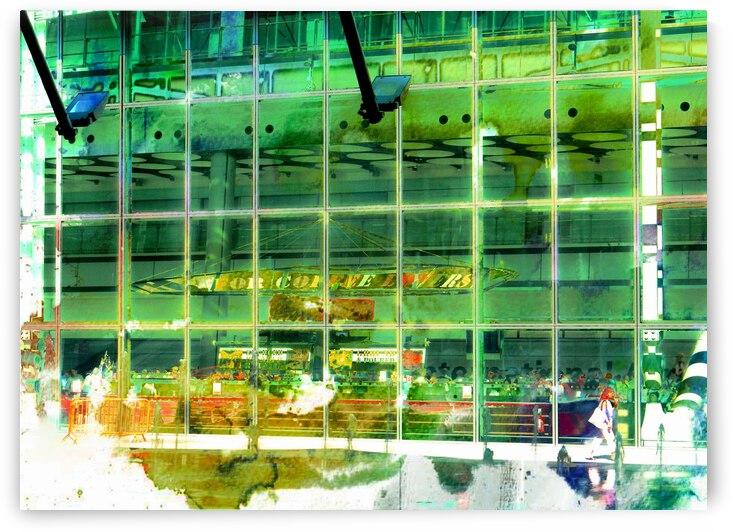 Atrium Heathrow Airport by Dorothy Berry-Lound