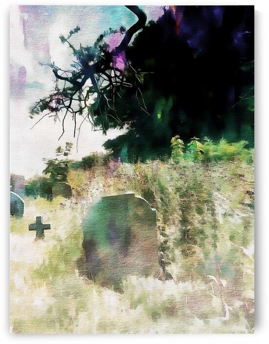 Graveyard Impression by Dorothy Berry-Lound