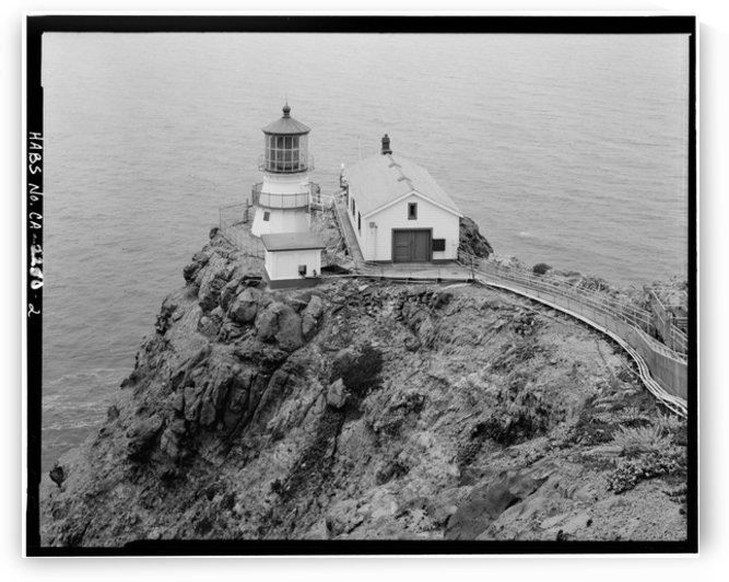 Point-Reyes-Lighthouse-CA by Stock Photography