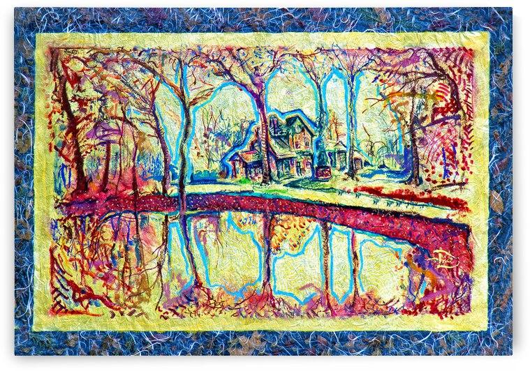 E-Collage-ical Triple Entendre Autumn Art by Lowell Phoenix Devin