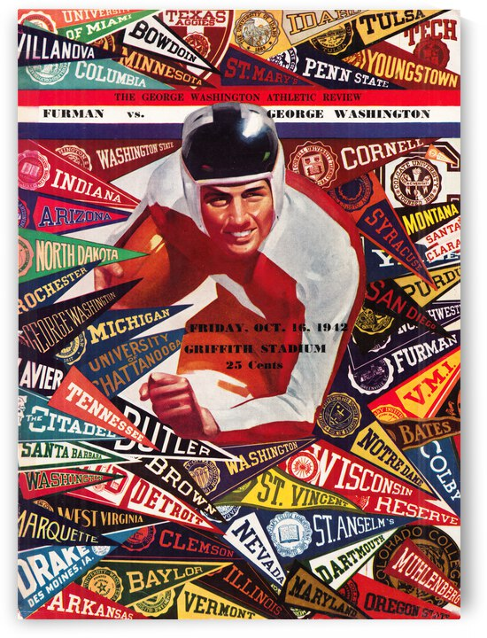 1942 Furman vs. George Washington | Row 1 by Row One Brand