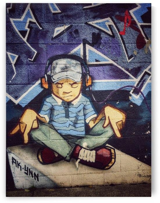 Graffiti Meditation  by TorontoStreetBeats