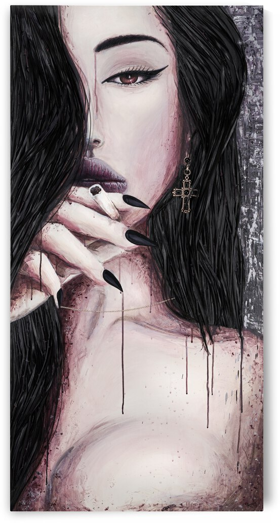 Dont Cross Me by Kos Art