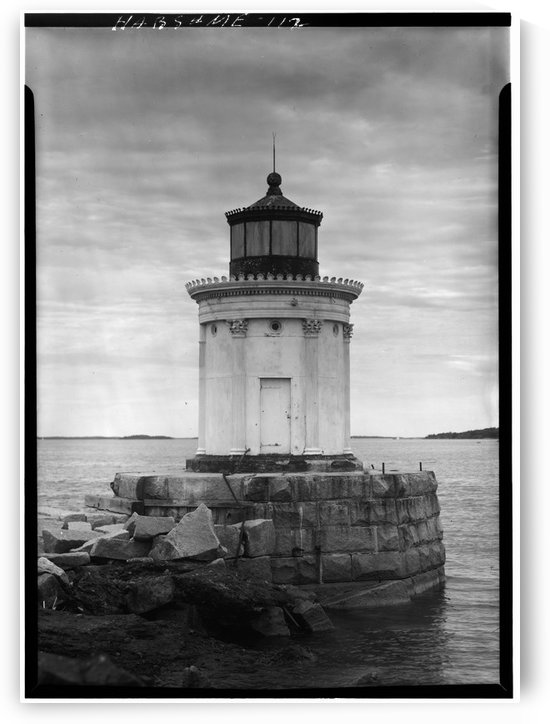 Portland-Breakwater-Lighthouse-Maine by Stock Photography
