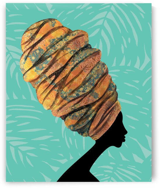Wrapped to Pop Seafoam by Rashad Ali Muhammad