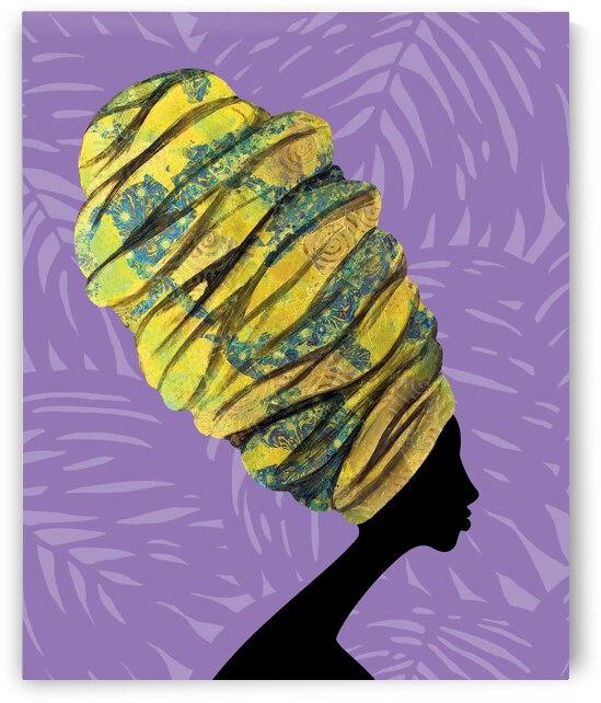 Wrapped to Pop Amethyst by Rashad Ali Muhammad