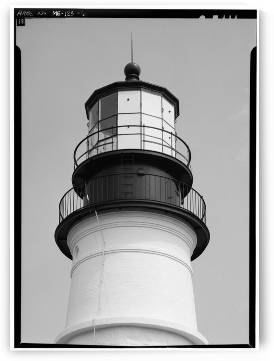 Portland-Head-Light-(Detail) by Stock Photography
