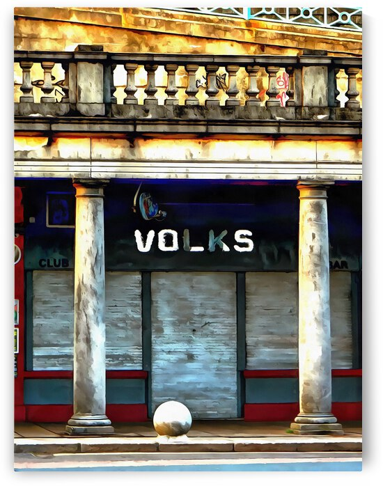 Volks Ticket Office Brighton by Dorothy Berry-Lound