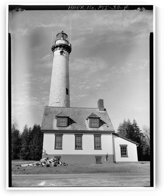 Presque-Isle-Light-Station-Haer-MI by Stock Photography