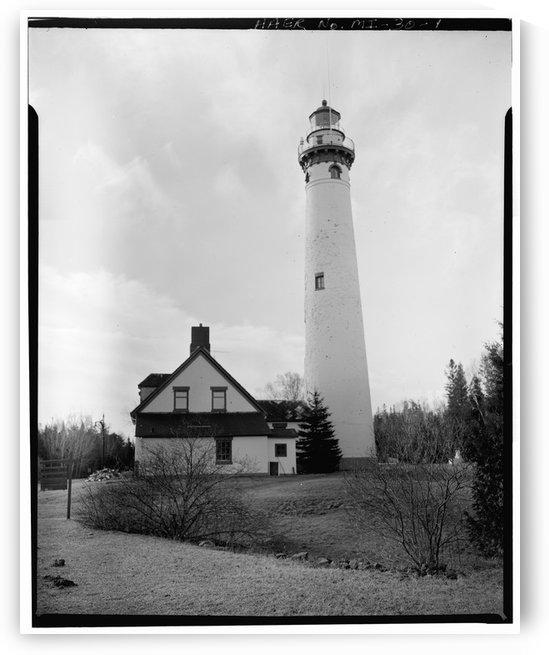 Presque-Isle-Light-Station-MI by Stock Photography