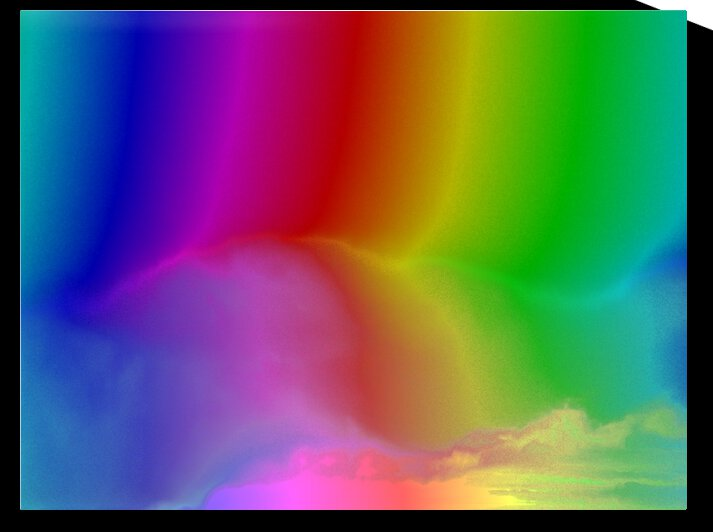 Rainbow Electicity by Sherrie Larch