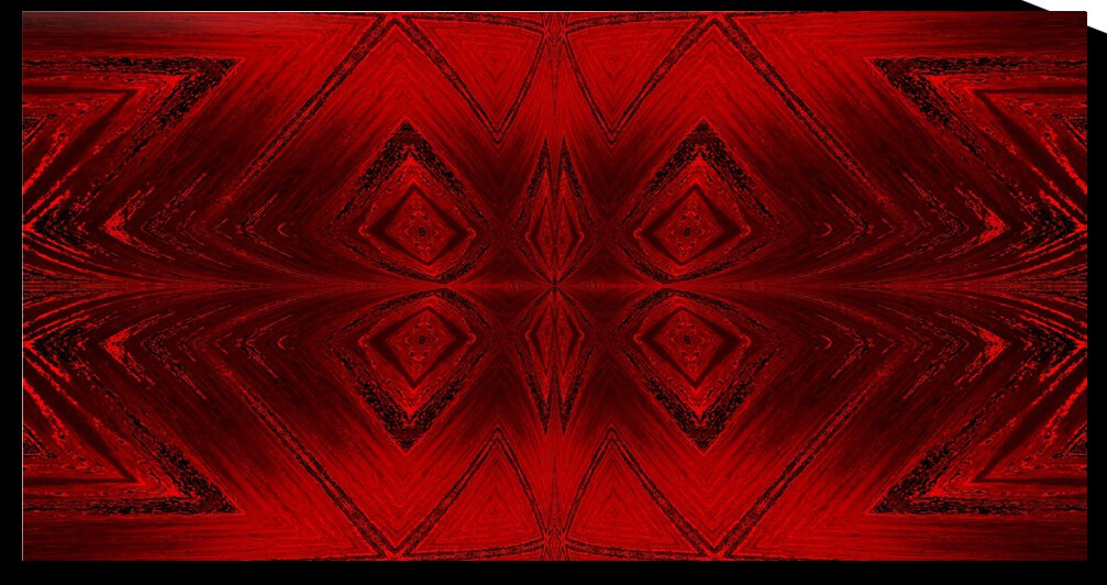 Red Crystal 1 by Sherrie Larch