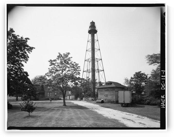 Reedy-Island-Range-Rear-Light-Delaware by Stock Photography