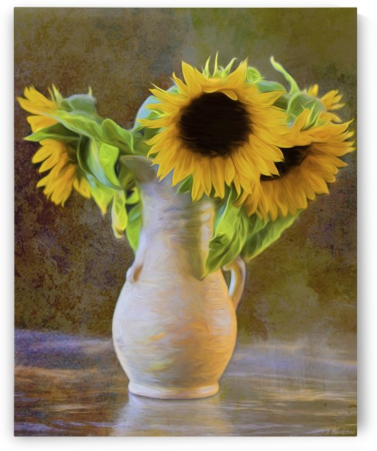 It's What Sunflowers Do - Flower Art by Jordan Blackstone by Jordan Blackstone