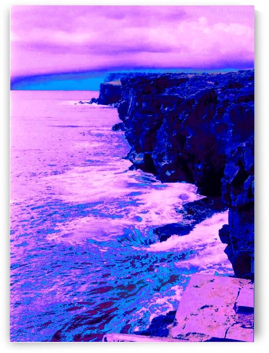 Hawaiian Cliffs by Matthew Ulisse