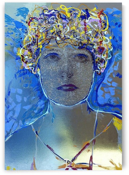 3-D Enchantress by Lowell Phoenix Devin