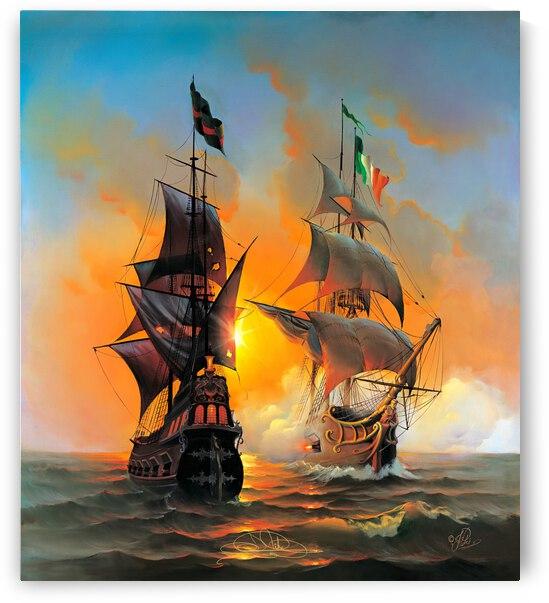 Marauders of the Sea by John Pitre