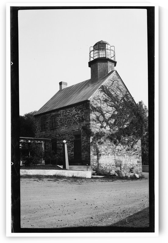 Salmon-River-Lighthouse-NY by Stock Photography
