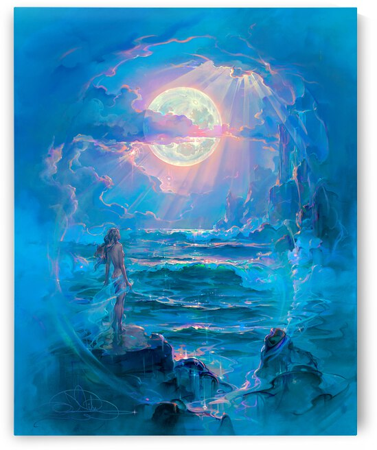 Through a Moonlit Dream by John Pitre
