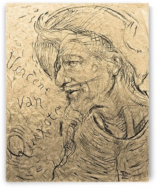 Vincent Van Quixote the Starry Knight of La Mancha by Lowell Phoenix Devin