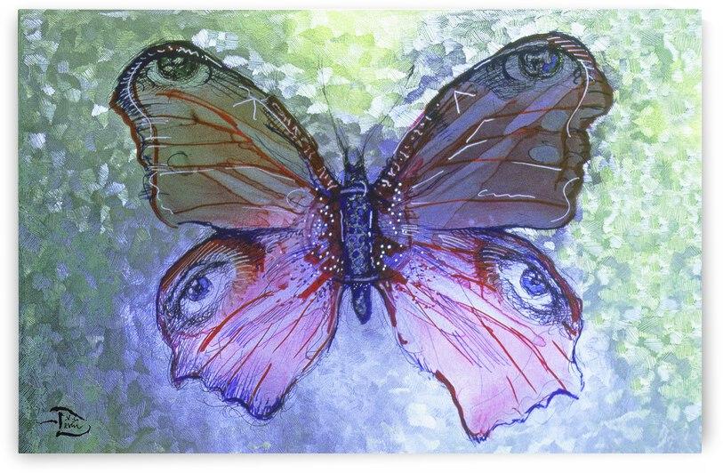 Butterfleye Portrait by Lowell Phoenix Devin