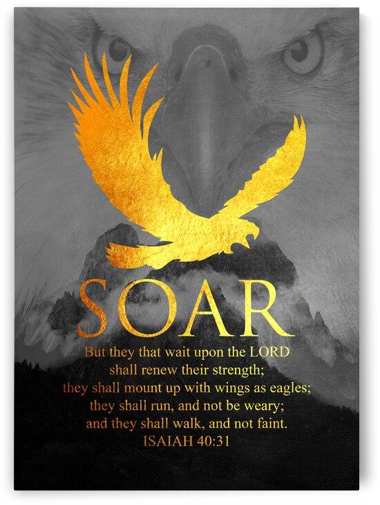 Isaiah 40:31 Bible Verse Wall Art by ABConcepts